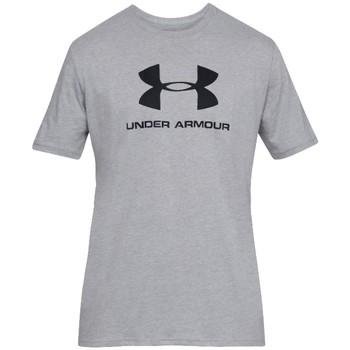textil Herre T-shirts m. korte ærmer Under Armour Sportstyle Logo Tee Grå