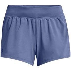 textil Dame Shorts Under Armour Launch SW 3 Short Blå