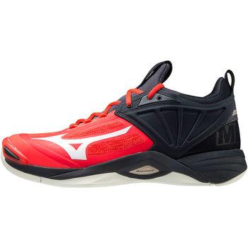 Sko Herre Multisportsko Mizuno Chaussures  Wave Momentum 2 rouge/blanc/noir