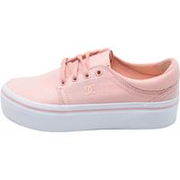 Sko Dame Sneakers DC Shoes Trase Platform Tx Lyserød