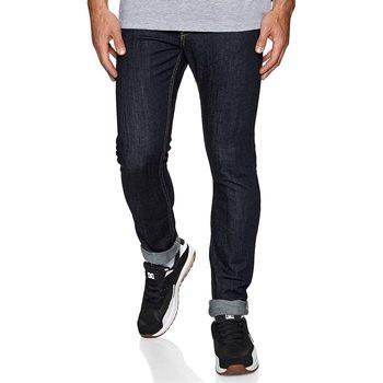 textil Herre Smalle jeans DC Shoes Worker Indigo Rinse Slim Fit Jeans Blå