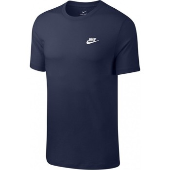 textil Herre T-shirts m. korte ærmer Nike Club Tee Blå