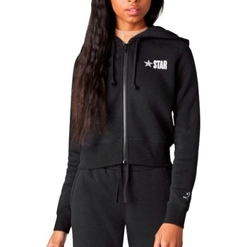 Sweatshirts Converse  All Star Fleece Full Zip Womens Hoodie