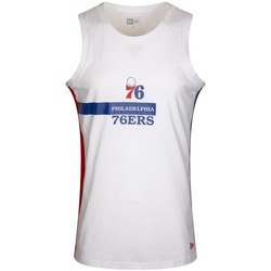 textil Herre Toppe / T-shirts uden ærmer New-Era Nba Philadelphia 76ERS Hvid