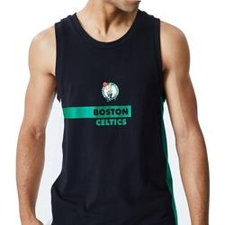 textil Herre Toppe / T-shirts uden ærmer New-Era Nba Boston Sort