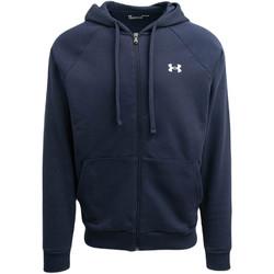 textil Herre Sweatshirts Under Armour UA Rival FZ Hoodie Blå