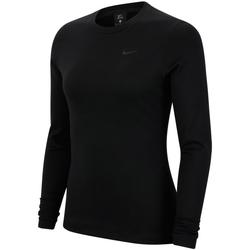 textil Dame Sportsjakker Nike Pro Therma Sort