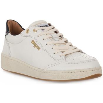 Sko Dame Lave sneakers Blauer WHI OLYMPIA Bianco