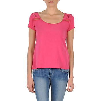textil Dame T-shirts m. korte ærmer DDP NOWI Pink