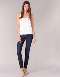 textil Dame Smalle jeans Freeman T.Porter ALEXA SLIM SDM Blå / Mørk