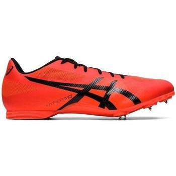 Sko Herre Fodboldstøvler Asics Hyper MD7 Rød