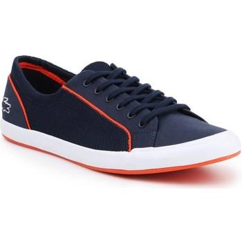 Sko Dame Lave sneakers Lacoste Lancelle Lace 6 Eye Flåde
