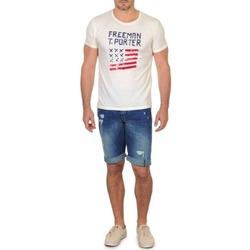 textil Herre Shorts Freeman T.Porter DADECI SHORT DENIM Blå