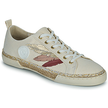 Sko Dame Høje sneakers Pataugas AUTHENTIQUE/T J2E Beige / Guld / Pink