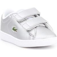 Sko Børn Lave sneakers Lacoste Carnaby Evo Sølv