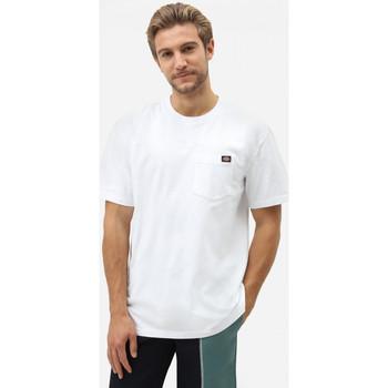 textil Herre T-shirts m. korte ærmer Dickies Porterdale tshirt mens Hvid