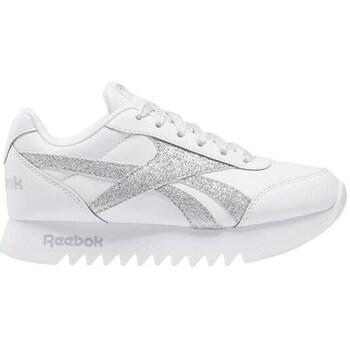 Sko Børn Lave sneakers Reebok Sport Royal CL Jogger Hvid, Sølv