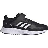 Sko Børn Løbesko adidas Originals Runfalcon 20 Sort