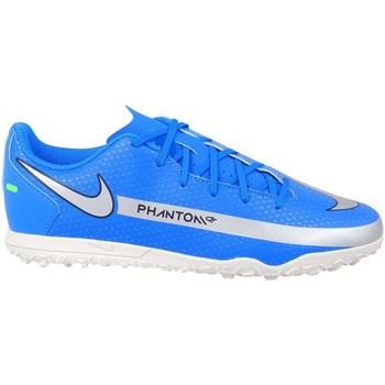 Sko Dreng Fodboldstøvler Nike Phantom GT Club TF JR Blå
