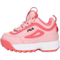 Sko Pige Lave sneakers Fila 1010826 Pink