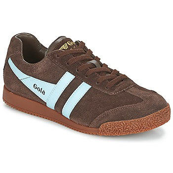 Sko Lave sneakers Gola HARRIER Brun / Blå