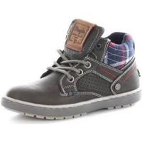 Sko Børn Høje sneakers Wrangler WJ16238 GRAPHITE