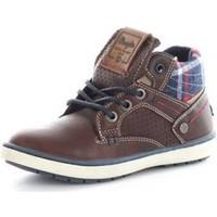 Sko Dreng Høje sneakers Wrangler WJ16238 BROWN