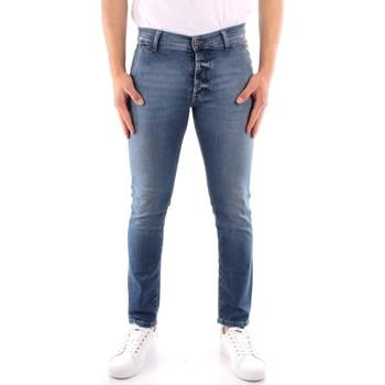 textil Herre Smalle jeans Roy Rogers P21RRU006D3171194 BLUE