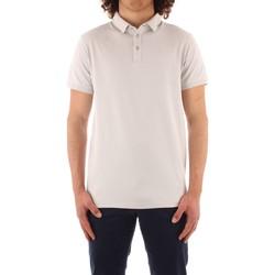 textil Herre Polo-t-shirts m. korte ærmer Trussardi 52T00488 1T003603 WHITE