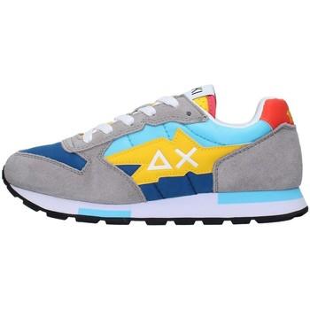 Sko Dreng Lave sneakers Sun68 Z31319 LIGHT BLUE