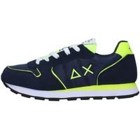 Sko Dreng Lave sneakers Sun68 Z31302 NAVY BLUE