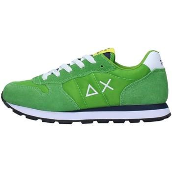 Sko Dreng Lave sneakers Sun68 Z31301 GREEN