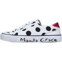 Sko Dame Lave sneakers Manila Grace S631CP WHITE