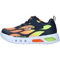 Sko Dreng Lave sneakers Skechers 400016N WHITE