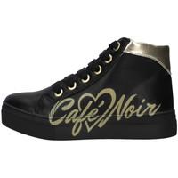 Sko Pige Høje sneakers Café Noir C-841 BLACK