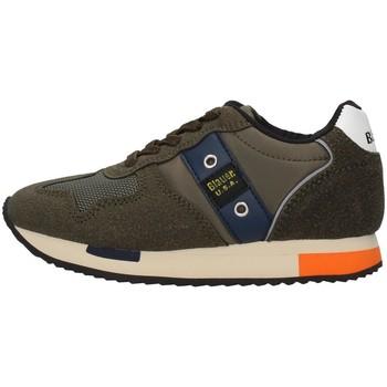 Sko Dreng Lave sneakers Blauer F0DASH02/NYL GREEN