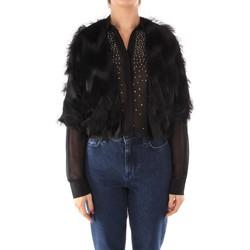 textil Dame Veste / Cardigans Emme Marella TEULADA BLACK
