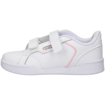 Sko Pige Lave sneakers adidas Originals FW3283 WHITE