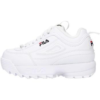 Sko Pige Lave sneakers Fila 1010826 WHITE