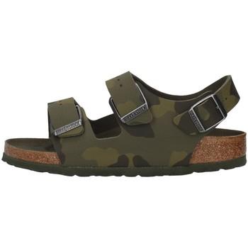 Sko Dreng Sandaler Birkenstock 1014590 GREEN