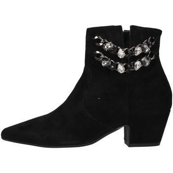 Tasker Dame Høje støvletter Paola Ferri D7085 BLACK