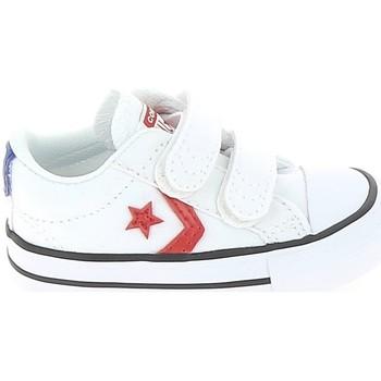 Sko Børn Lave sneakers Converse Star Player 2V BB Blanc Rouge Hvid