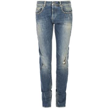 textil Herre Smalle jeans Les Hommes  Blå