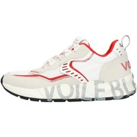Sko Herre Lave sneakers Voile Blanche 001201592601 White and red