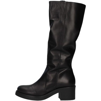 Sko Dame Lårhøje støvler Unica 10187 BLACK