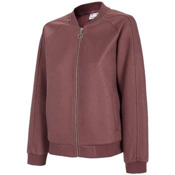 textil Dame Sportsjakker 4F Women's Sweatshirt Bordeaux