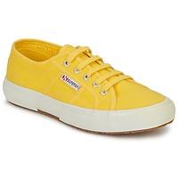 Sko Dame Lave sneakers Superga 2750 CLASSIC Gul