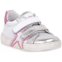 Sko Pige Lave sneakers Grunland ARGENTO 88NOON Grigio