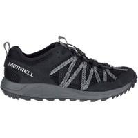 Sko Herre Lave sneakers Merrell Wildwood Aerosport Grå, Grafit