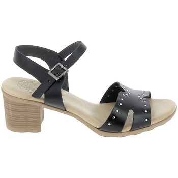 Sko Dame Sandaler Porronet Sandale F12626 Noir Sort